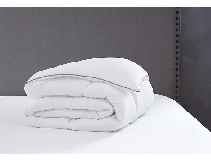 Down Alt Comforter Q-White, , large