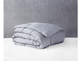 Down Alt Comforter Q-Grey, , large