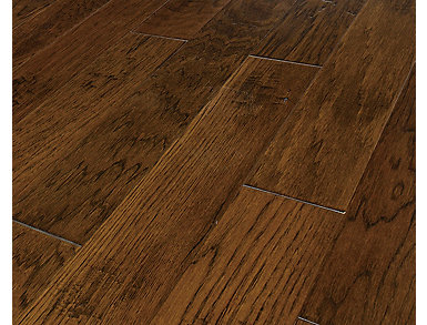 Handcrafted Hickory Joplin 3/8 X 5 in. Solid Hardwood $4.48                     sq. ft ( 33.4 sq. ft / case), , large