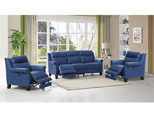 Dolce Power Sofa & 2 Recliners, , large
