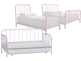 Wren Pink Bed Collection, , large
