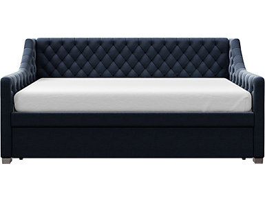 Ambrosia Blue Twin Daybed, Blue, large