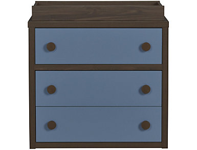 Sierra Blue Changing Table, , large