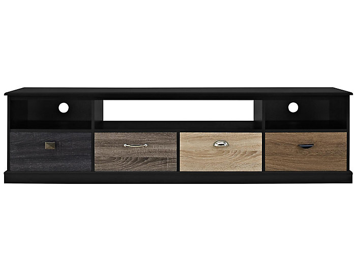 "Arden 72"" Black TV Stand, , large"