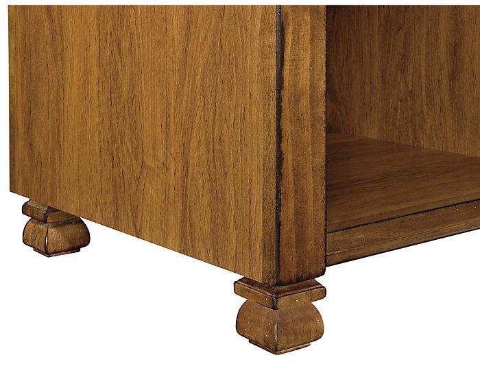 Leesa Tuscany Oak Coffee Table, Brown, , large