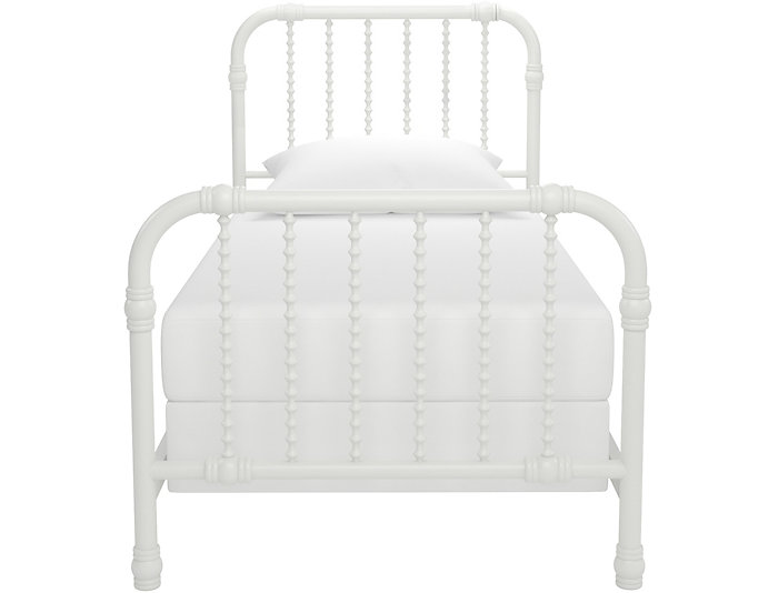 Wren White Twin Bed, , large