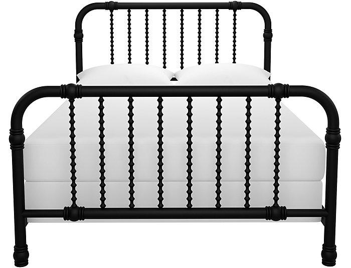 Wren Black Full Bed, , large