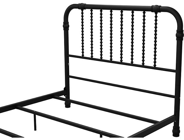 Wren Black Full Bed, , large