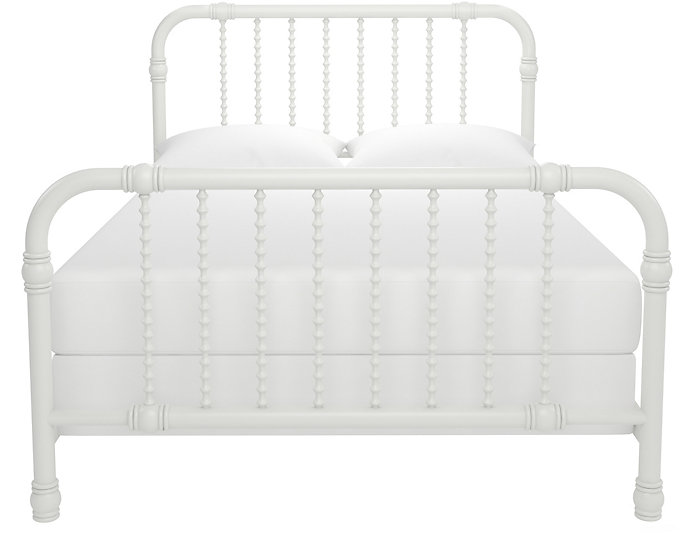 Ren White Full Bed, , large