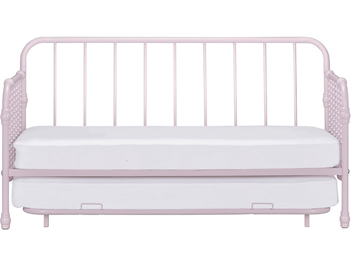 Wren Pink Daybed w/ Trundle, , large