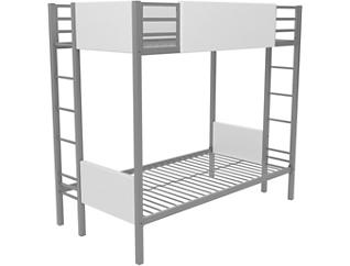 Raven SilverTwin over Twin Bunk Bed, , large