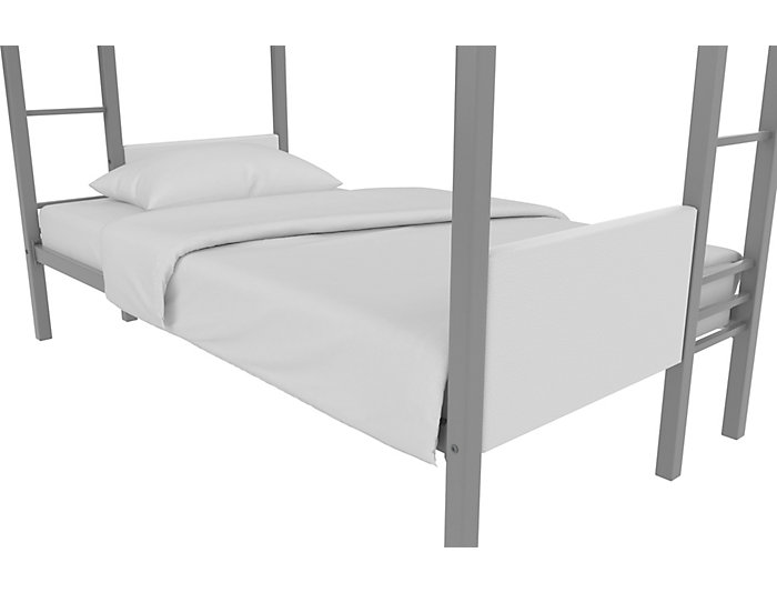 Raven SilverTwin/Twin Bunk Bed, , large