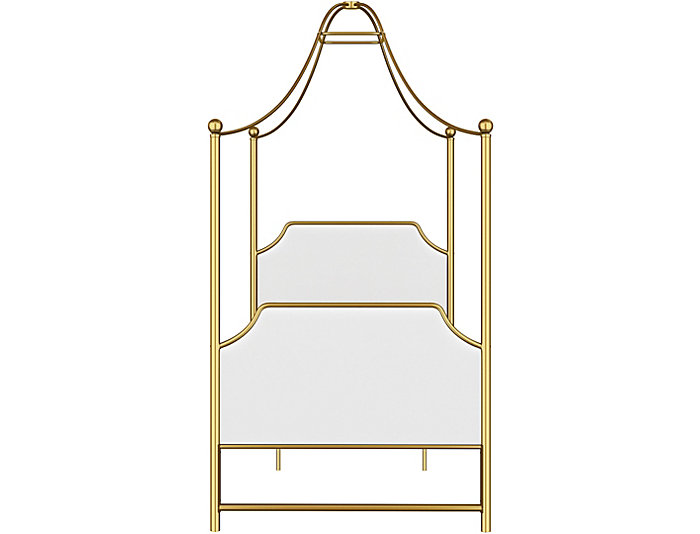 Clementine Twin Canopy Bed, , large