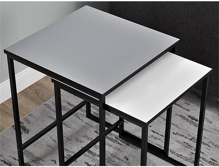 Lola Nesting Tables, Grey, , large
