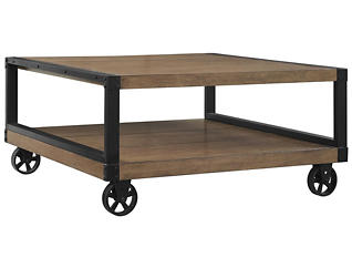 Jaxon Coffee Table, Grey, , large