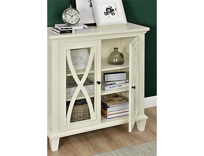 Ellington Ivory Cabinet, , large