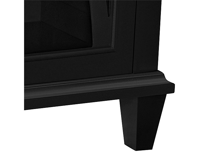 Ellington Black Cabinet, , large