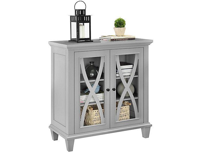 Ellington Grey Cabinet, , large