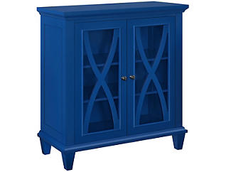 Ellington Blue Cabinet, Blue, large