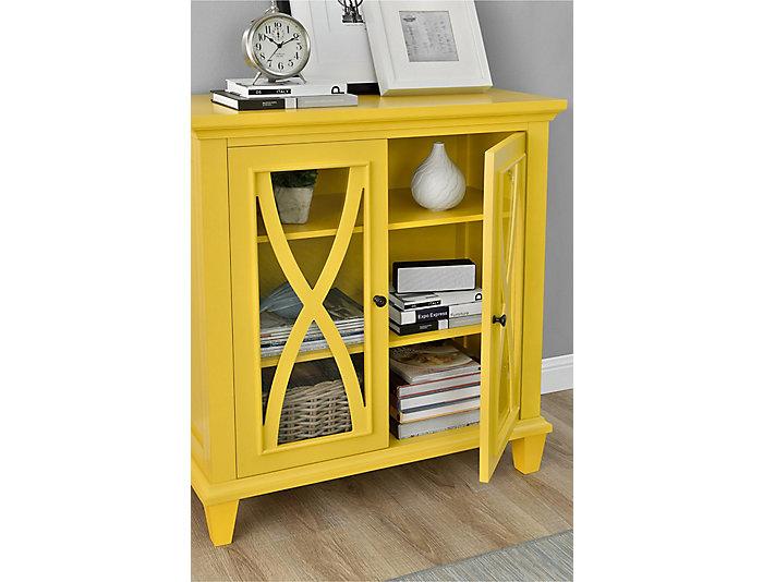 Ellington Yellow Cabinet, , large
