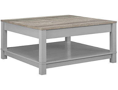 Brody Grey Coffee Table, , large