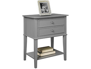 Franklin Grey Accent Table, , large