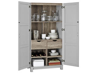"""Brody 64"""" Grey Cabinet, , large"""