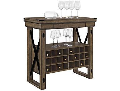 Wildwood Gray Bar Cabinet, , large