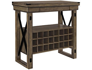 Wildwood Gray Bar Cabinet, , large