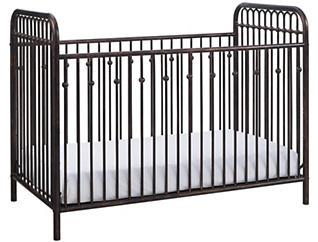 Ivy Bronze Metal Crib, , large