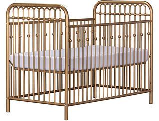 Ivy Gold Metal Crib, , large