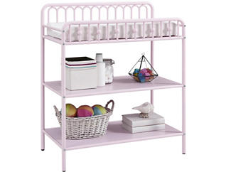 Ivy Pink Changing Table, , large