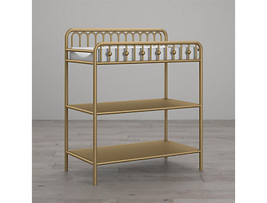 Ivy Gold Changing Table, , large