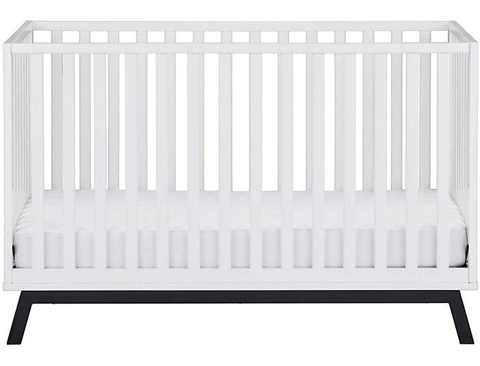 Lark Urban White Crib, , large