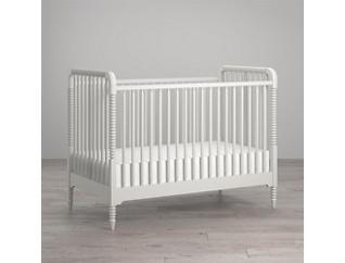 Linden White Crib, , large