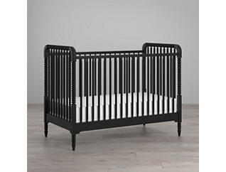Linden Black Crib, , large