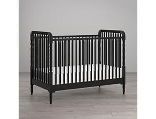 Linden Black Crib, , large