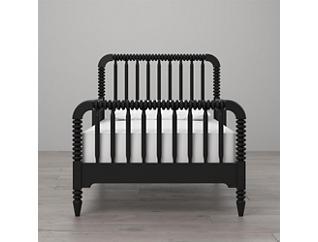Linden Black Toddler Bed, , large