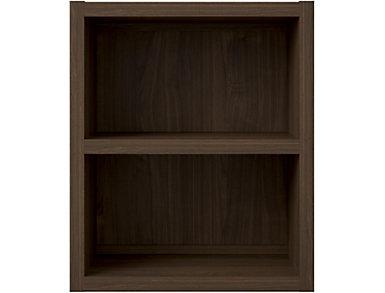 Sierra Terra Walnut Bookcase, , large