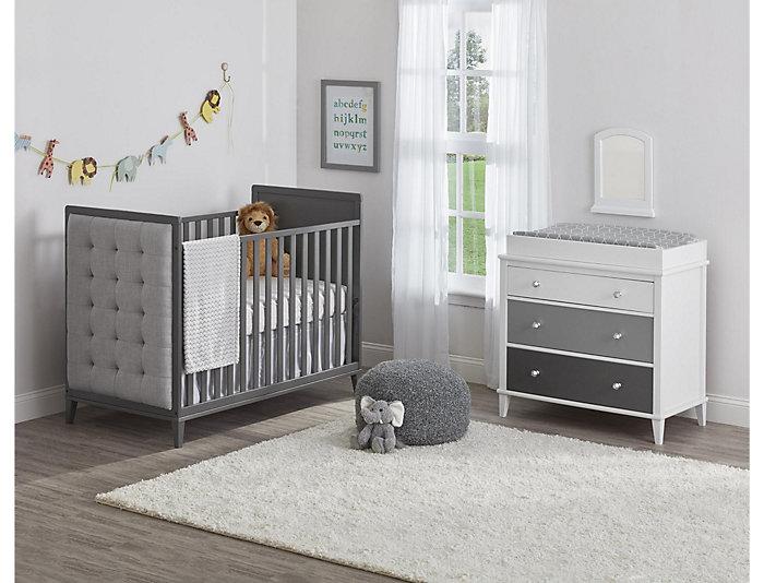 Poppy Gray 3-Drawer Dresser, , large