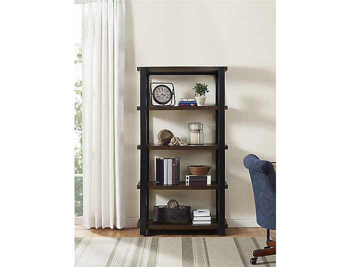 "Castling 66"" Espresso Bookcase, , large"