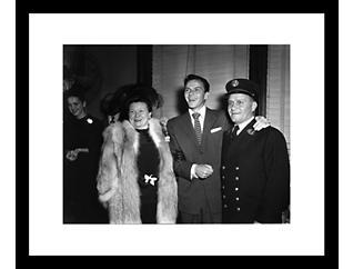 Sinatra III 28x32 Framed Photo, , large