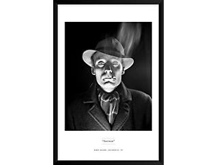 Smoker 37x25 Framed Poster, , large