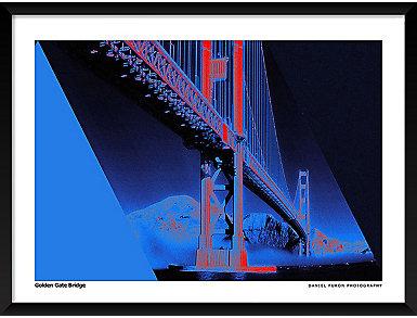 Golden Gate 19x25 Frame Poster, , large