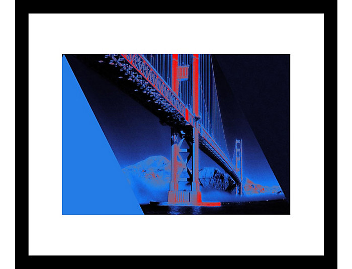 Golden Gate 28x32 Framed Photo, , large