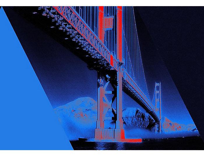 Golden Gate 33x43 Framed Photo, , large