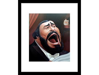 Pavarotti 28x32 Framed Art, , large