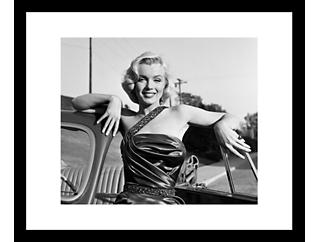 Monroe 28x32 Framed Photo, , large