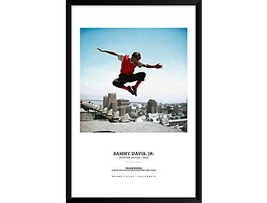 Davis Jr 37x25 Framed Poster, , large