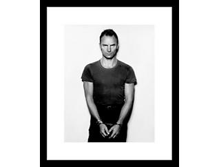 Sting 33x43 Framed Photo, , large